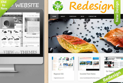 Redesign old Website to New Mobile Responsive WordPress Website