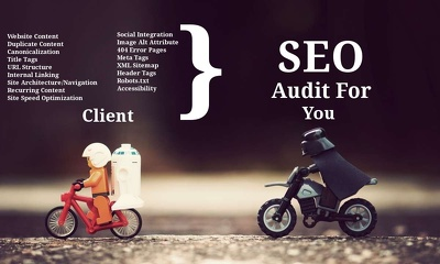 Do a SEO & local SEO audit, SEO strategy report, competitor review & keyword analysis