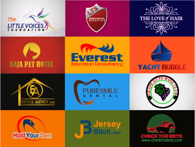 Design 3 creative and professional logo with unlimited revision