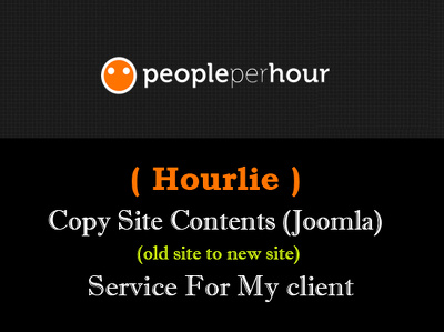 Transfer your all contents from one joomla site to another