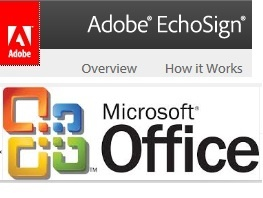 Provide VBA code for Access and MS Office  programs to use the Adobe EchoSign API