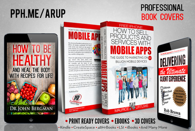 Design a professional and unique eBook cover or Kindle cover