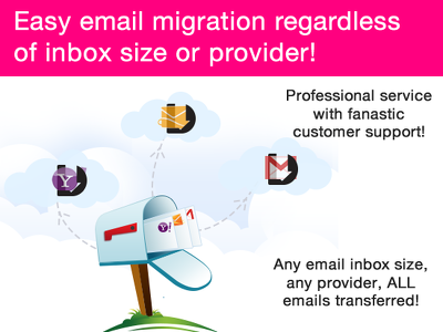 migrate your email to a new provider