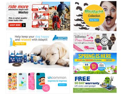 Design 2 website banner images for your slider