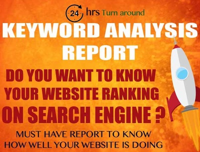 Prepare Website Ranking Report for 5 URL and 10 Keywords