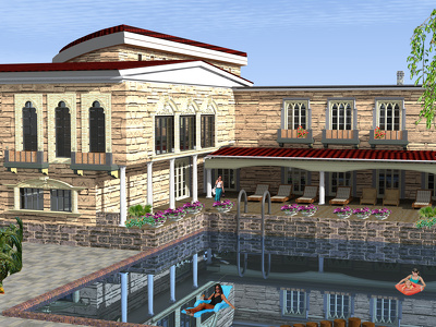 Do the exterior 3d  design of your building