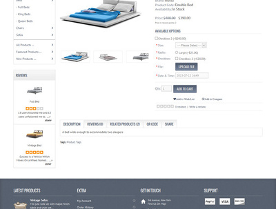 Complete opencart eCommerce site setup
