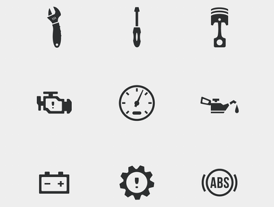 Create clean, minimal icon sets