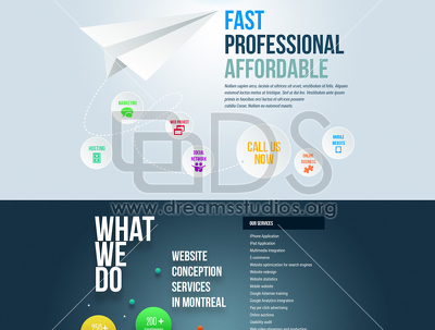 Build Professional responsive website for your business using all latest Technologies