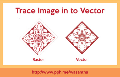 Trace image into vector