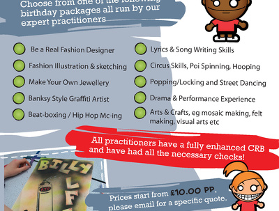 Create your flyers and posters