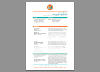 Design your CV and covering letter