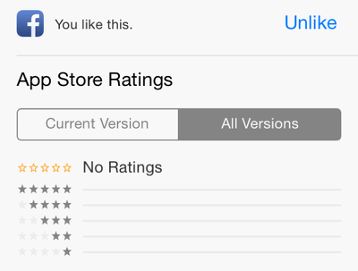 Rate you iPhone/iPad app on the App Store