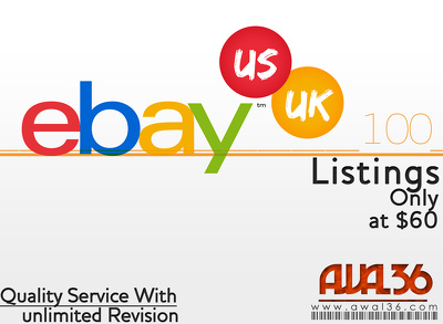 List your 100 products on ebay or amazon with Title optimization