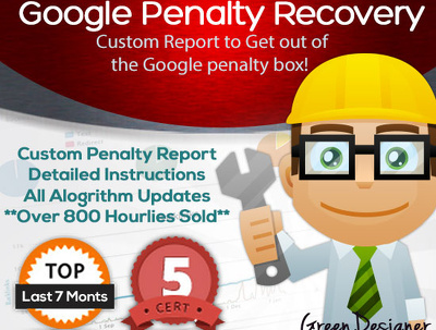 Help Recover from Google Penalty or Ranking Problem | Remove bad links Detox Disavow