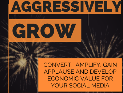 Aggressively grow, market & manage your Social Media for 5 days