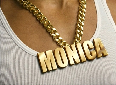 Write your name on Gold Chain