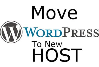Transfer wordpress / website to new hosting