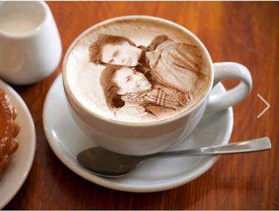 Create your photo in coffee cup
