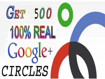 Provide you 500+ real human verified Google+ circle for your  Google+ account
