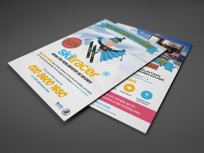Design a awesome eye catching flyer,brochure ,advert for any occasion