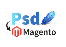 Convert your PSD file to Magento site