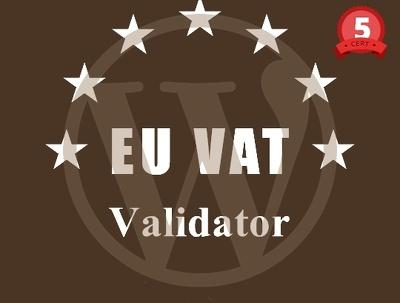 Do wordpress plugin for EU country VAT validator
