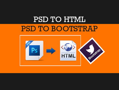 Convert PSD designs to high quality cross browser compatible HTML/CSS  or HTML5/CSS3