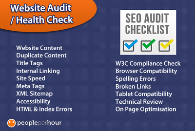 Provide a mini SEO audit of your website