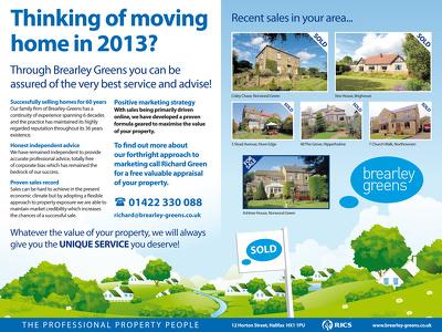 Design your brochure, leaflet or catalogue!