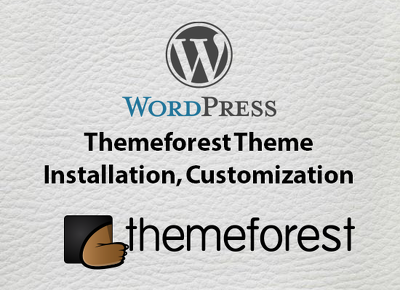 Install customize themeforest wordpress theme (content, slider etc)