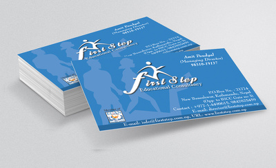 Design your business cards with unlimited revisions