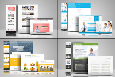 Design a homepage with 100% pixel perfect PSD for website layout