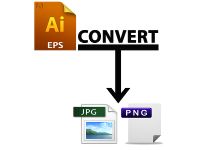 Do Image Convert (.Ai or .EPS file to JPG or PNG) Quentity of 50