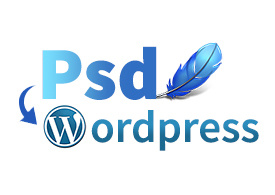 Convert your psd file to Responsive Wordpress site
