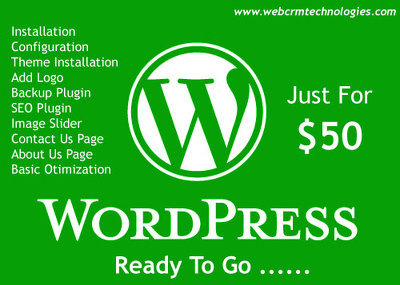 Install Wordpress with theme and plugins