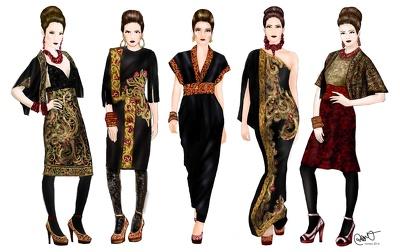 Make your custom fashion illustration