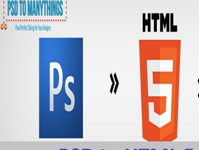convert PSD to responsive HTML
