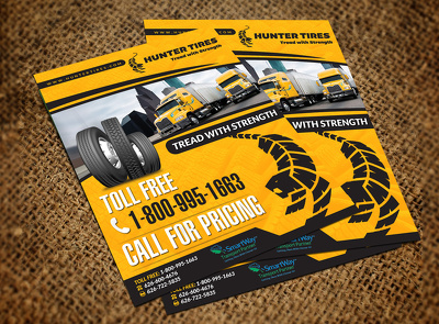 Design A4 flyer or brochure [single or double sided]