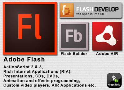 Provide Flash services