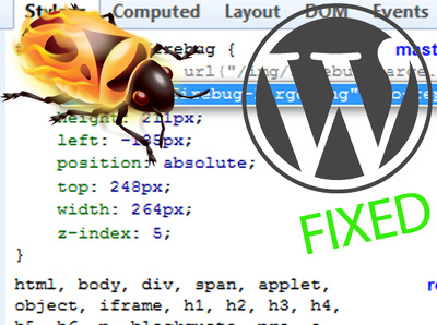 Fix your WordPress bug