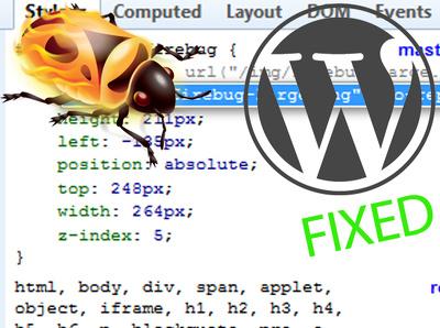 fix your WordPress bug