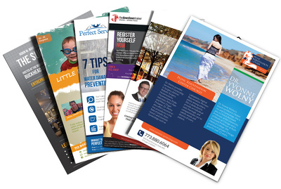 Create a premium quality flyer, brochure, poster or any document