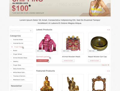 Deliver a working WordPress eCommerce site