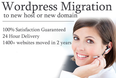 Move or migrate Wordpress site to new host or domain