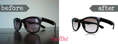 do 50-100 clipping path, retouching & color correction work in Photoshop