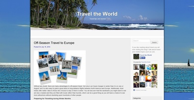 Guest post your article to my PR3 DA37 TRAVEL blog