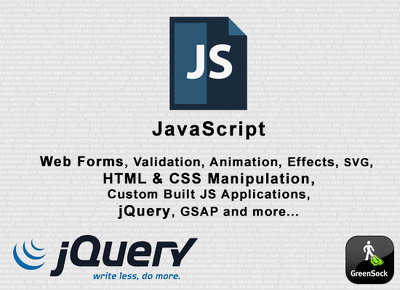 Provide JavaScript services