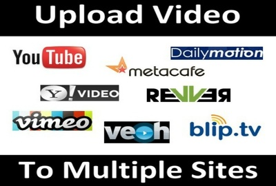 Manually make video submission on 25 video sharing sites PR 9, Online marketing