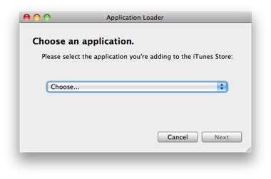 Upload your iphone/ipad application to itunes store for publish